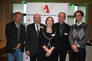 Von links: Andreas Hott, Theo Hasse, Annkathrin Fischer, Bernhard Pohlmann, Jan-Niklas Francke