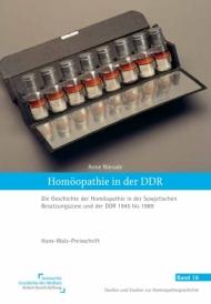 """Buchcover """"Homöopathie in der DDR"""""""
