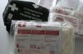 Auch bei dieser Verbandtasche sind die sterilen Produkte abgelaufen und sollten erneuert werden.