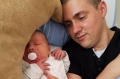 Andrés größtes Glück ist Tochter Leni (von privat)