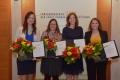 v.l.n.r. Janina Wilmskoetter, Corinna Gerber, Sonja Suntrup-Krüger und Laura Iden