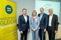 Hauptstadtkongress am 22.05.2019: Dr. Holger Neye/Sabine Rieser/Walter Röhrer/Prof. Dr. Theo Dingermann Foto: Peter Himsel