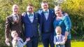Marco Wehser (links) auf der Hochzeit seines Spenders Daniel aus UK
