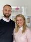 Ewelina Nocon, Geschäftsführerin der Lebenshilfe24 mit Ehemann Sebastian Nocon.
