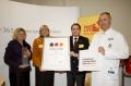 von links nach rechts:Christel Trautmann, Claudia Rutt, Uwe Hollmichel, Prof. Andreas Schneeweiss